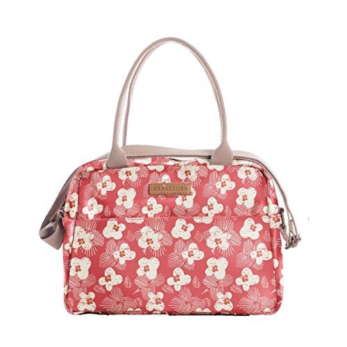 Brakeburn Damen Spring Daisy Bowling Bag Schultertasche, Rot (Coral), 11 x 29 x 30 cm