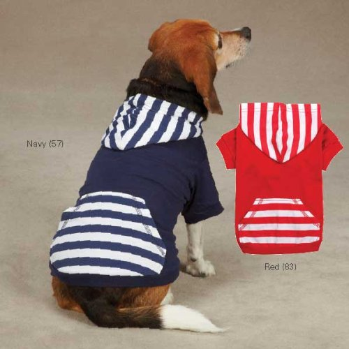 - Casual Canine ZM2958 12 57 Americana Pullover for Dogs, Small, Navy