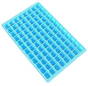 Cheap Innovative Easy Release 96 Candy Molds Ice Cube Mold Trays Set Of 2 Blue