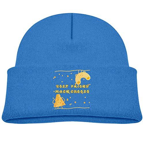 Banana King Mac N Cheese Baby Beanie Hat Toddler Winter Warm Knit Woolen Watch Cap for Kids -