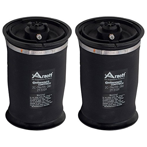 Pair Arnott Rear Suspension Air Spring Set For BMW X5 2007 - 2013 - BuyAutoParts 76-80097AA New