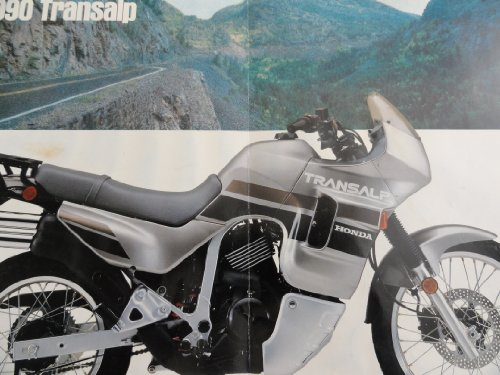 Motorcycle Sales Brochure (1990 Honda Transalp Motorcycle Sales Brochure)