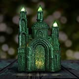 Land of Oz Emerald City Garden Statue, Resin, Solar Powered For Sale
