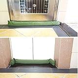 2 Pcs Long Canvas Sandbags - Rain Hurricane Flood