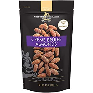 SQUIRREL BRAND Artisan Nuts Crème Brûlée Almonds, 3.5 oz (Pack of 6)
