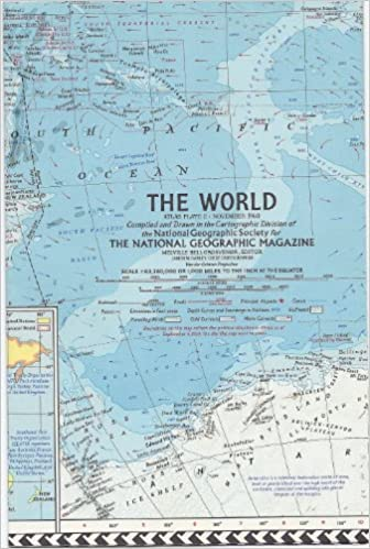 National geographic november 1960 atlas map of the world national geographic november 1960 atlas map of the world national geographic society amazon books gumiabroncs Gallery
