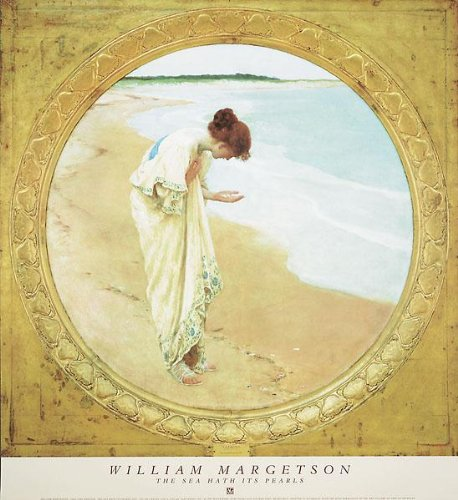 William Henry Margetson - The Sea Hath Its Pearls 27 x 29.5