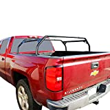 Tuff Stuff Rooftop Tent Truck Bed Rack, Adjustable, Powder Coated, Black, 40'