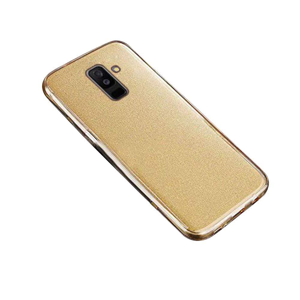 Kompatibel mit Galaxy J6 Plus H/ülle 360 Grad Full Body Transparent Silikon TPU Cover Vorne und Hinten Kratzfest 3 in 1 Luxus Gl/änzend Glitzer Schutzh/ülle Case f/ür Galaxy J6 Plus,Schwarz