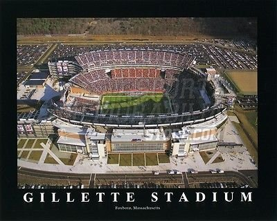 New England Patriots Gillette Stadium aerial view 8x10 11x14 16x20 photo 591 - Size 11x14