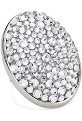 "Tarina Tarantino ""Iconic Classics"" Galaxy White Large Crystal Pave Ring, Size 8"