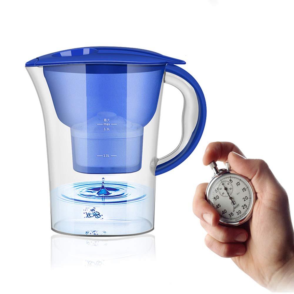LTLWSH Caraffa e Cartuccia Filtro Acqua, processo di filtrazione a 4 stadi 2,5 l, filtraggio rapido Prezzi