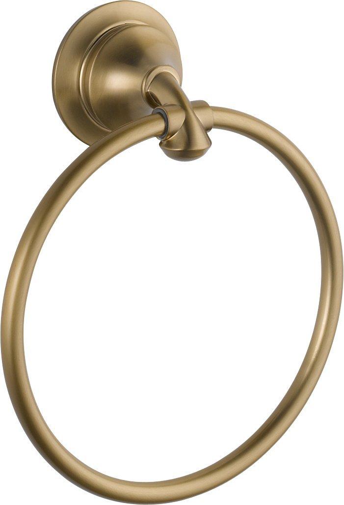 Delta Faucet 79446-CZ Linden Towel Ring, Champagne Bronze