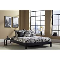 Leggett And Platt Murray Black Platform Bed Bed Size=Queen