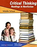 Critical Thinking Readings in Nonfiction: Middle School, Donald L. Barnes and Thomas S. Schroeder, 0825162742