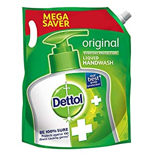 Dettol Original Germ Protection Liquid Handwash Refill, 1500ml (Price Off)