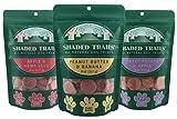 Cheap Shaded Trails All Natural Crunchy Dog Treats Variety 3 Pack – Vegan & Grain Free