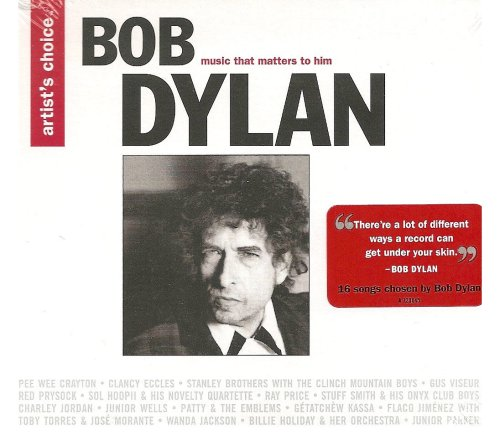Price comparison product image Artist's Choice: Bob Dylan (Music That Matters To Him)