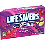 Life Savers Wild Berries Gummies Candy Theater Box, 3.5 ounce (12 Single Packs)