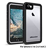 Waterproof case for iPhone 6/6s, UBeesize Transparent Shockproof Underwater Cover Full Body Protective Drop Resistant Heavy Duty Case for iPhone 6/6s (4.7in)