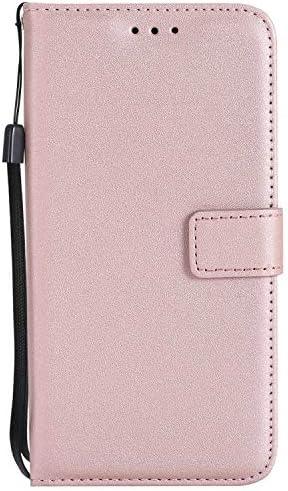 Huawei P9 Lite ケース Zeebox® 手帳型 PU レザー カード収納 スタンド 機能 ストラップ付き ファーウェイHuawei P9 Lite おしゃれ 人気スマホケース 衝撃吸収 全面保護 カバー –ピンク