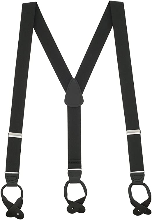 SUSPENDERS 1.5 INCHES WIDE MADE in USA MANY COLORS Top Quality Guaranteed