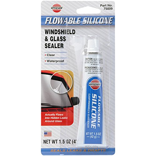 Window Seal Repair - Versachem 75009 Flowable Windshield Silicone - 1.5 oz.