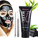 ultra blackhead remover - Peel Off Mask, Black Mask, Blackhead Remover Mask with Blackhead Remover Tool Kit, Blackhead Remover Deep Cleansing Mask for Acne and Blemishes, 60g