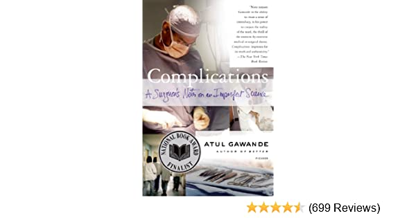 Complications Atul Gawande Ebook