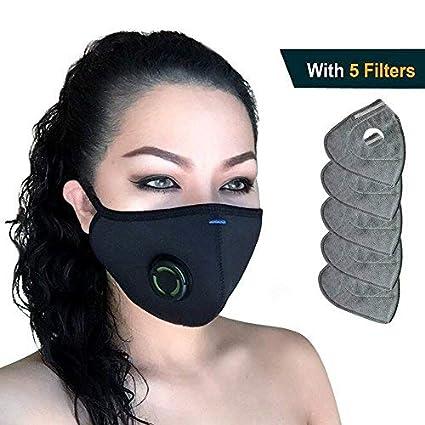 keine Mund Maske Enthalten 1 Pcs Pm2.5 Aktivkohle Filter Für Mund Masken 6 Schicht Schutz Filter Maske Filter Ersatz Bekleidung Zubehör