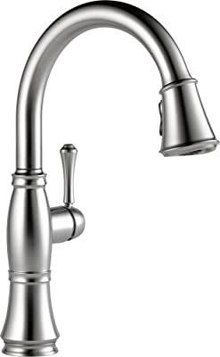 Delta Faucet 9197-AR-DST Cassidy, Single Handle Pull-Down Kitchen Faucet