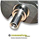 Keyed Crankshaft for Keyed Cam Chain Drive Gear Pulley Sprocket MZR Mazdaspeed Turbocharged DISI 2.3 originally equipped in Mazda Mazdaspeed 3 6 CX-7 Turbo Direct Injection