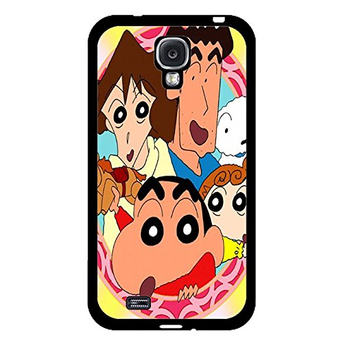 Samsung Galaxy S4 I9500 Phone Case Crayon Shin-chan Cute Family Colorful Shell Cover
