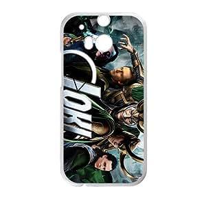 DAZHAHUI Unique Loki Cell Phone Case for HTC One M8