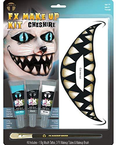 Kit De Maquillage Chat Du Cheshire Alice Au Pays Des