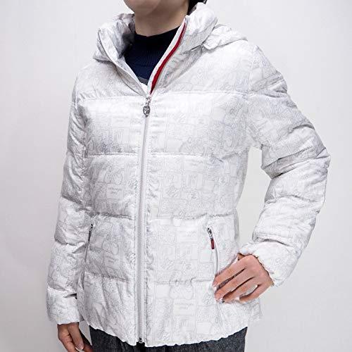 40856 秋冬 レディース 保温 吸湿 吸湿発熱 ジップアップ ダウンコート ハーフコート フード着脱可 ホワイト(白) サイズ 42(L) CASTELBAJACカステルバジャック 紳士服 メンズ 男性用