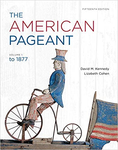 The American Pageant Volume 1 9781111831424