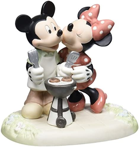 Precious Moments, Disney Showcase Collection, Kiss The Cook, Bisque Porcelain Figurine, 133706