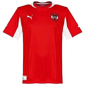 Puma Men s Football Jersey National Team Replica red-white-austria home  Size S 99c3f5011