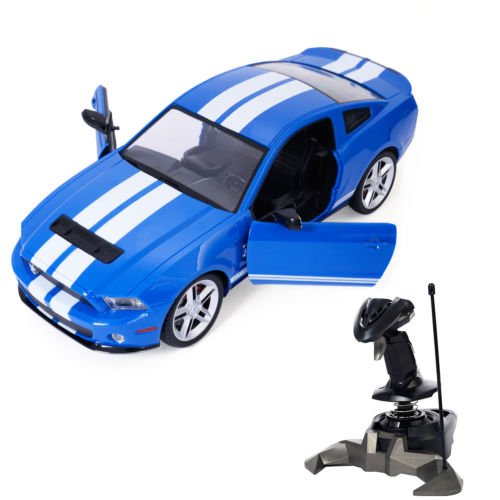 1/14 Ford Mustang Shelby GT500 Radio Remote Control RC Model Car Blue New by Unbranded*