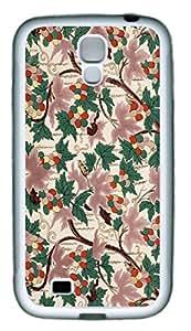 Cai Jing retro flowers as TPU White Samsung Galaxy S4 I9500 Cases