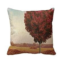 Home Decorative Square Custom Throw Pillow Cover Elegant Theme Nature Simple Theme Nature Wonderful 20 X 20Inches Cotton Linen Comfortable Throw Pillowcase