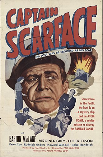 Captain Scarface 1953 Authentic 27