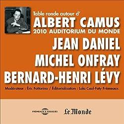 Table Ronde autour d'Albert Camus