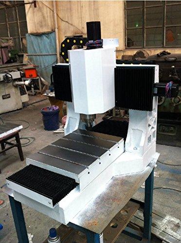 Gowe Mini Cnc Milling Machine Cast Iron Frame For Metal Metal Cnc