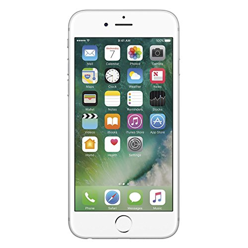 Apple iPhone 6S, Fully Unlocked, 64GB - Silver (Renewed)