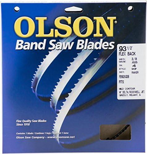 "93.5/"" 7/'-9 1//2/"" x 3//8 x .025 x 8 Carbon Wood Band Saw Blade 1 Pcs"