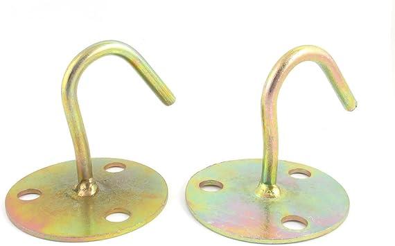 Aexit 2 piezas de bronce Tono Metal en forma de ventilador de ...