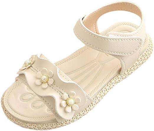 Kids Infant Toddler Baby Girls Letter Flock Soft Sandals Slipper Casual Shoes O1
