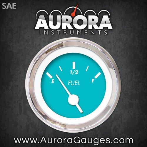 Aurora Instruments GAR137ZEXKABAD Marker Aqua Fuel Level Gauge